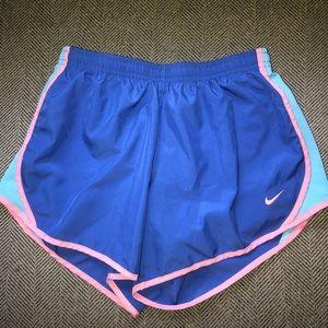 Kids Nike running shorts